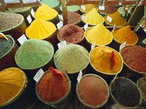 Spices, Grand Bazaar, Istanbul, Turkey, Eurasia by Sylvain Grandadam