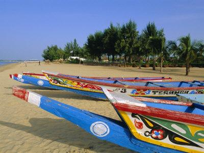 The Beach at Saly, Senegal, Africa
