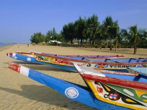The Beach at Saly, Senegal, Africa by Sylvain Grandadam