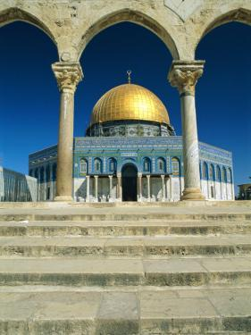 The Dome of the Rock, Temple Mount, Old City, Jerusalem, Israel, Middle East by Sylvain Grandadam