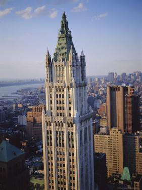 The Woolworth Building, Manhattan, New York, USA by Sylvain Grandadam