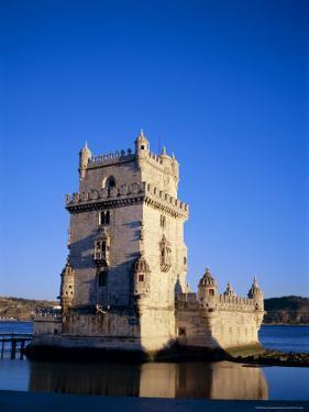 Torre De Belem (Tower of Belem), Built 1515-1521 on Tagus River, Lisbon, Portugal by Sylvain Grandadam