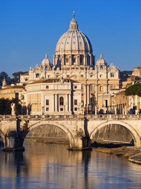 Sant'Angelo Bridge and St. Peter's Basilica by Sylvain Sonnet