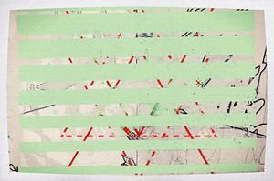 Green lines of no gender, 2019 by Sylver Bernat