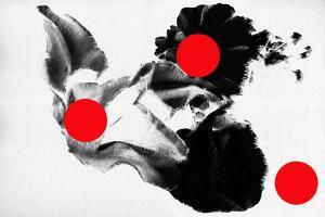 Red dots on flowers, 2019, by Sylver Bernat