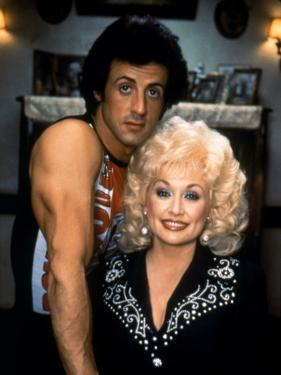 Sylvester Stallone and Dolly Parton RHINESTONE, 1984 directed by BOB CLARK (photo)