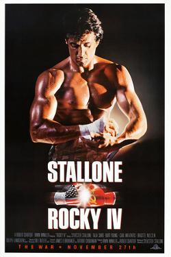 """SYLVESTER STALLONE. """"Rocky IV"""" [1985], directed by SYLVESTER STALLONE."""