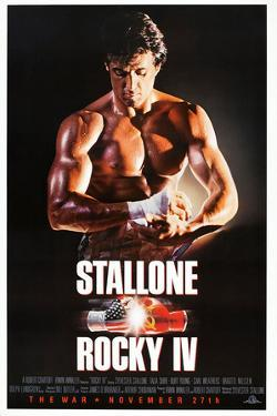 "SYLVESTER STALLONE. ""Rocky IV"" [1985], directed by SYLVESTER STALLONE."