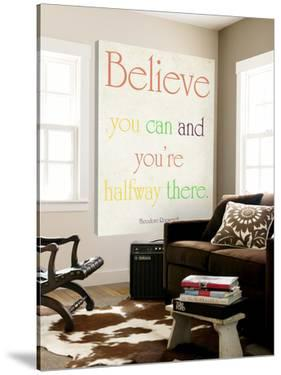 Believe you can by Sylvia Coomes
