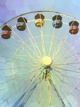 Rainbow Ferris Wheel I by Sylvia Coomes