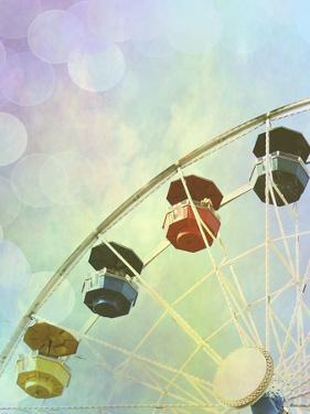 Rainbow Ferris Wheel II by Sylvia Coomes