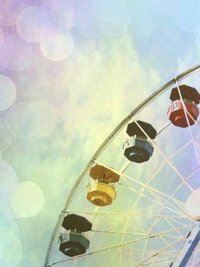 Rainbow Ferris Wheel V by Sylvia Coomes