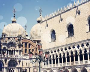 Venice Bokeh IX by Sylvia Coomes