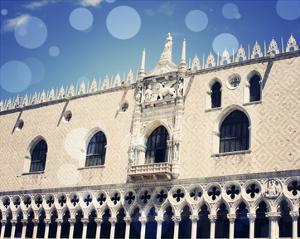 Venice Bokeh X by Sylvia Coomes
