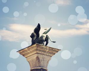 Venice Bokeh XI by Sylvia Coomes