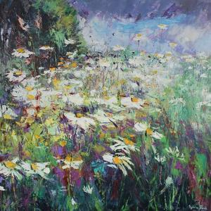 Daisy Meadow by Sylvia Paul