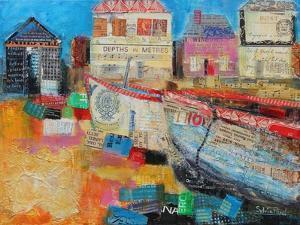 Old Fishing Boats, 2013 by Sylvia Paul