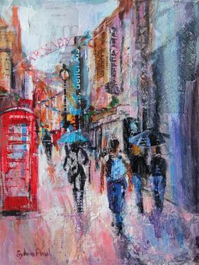 Rainy Day, Carnaby Street by Sylvia Paul