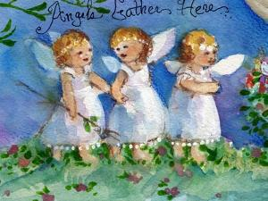 Angels Gather Here by sylvia pimental