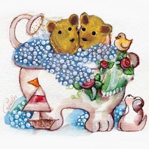 Bear Bubble Bath by sylvia pimental