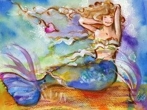 Blue Mermaid by sylvia pimental