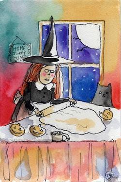 Halloween Baking Night by sylvia pimental