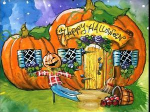 Halloween Pumpkin House by sylvia pimental