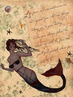 Life Force Inspirational Mermaid by sylvia pimental