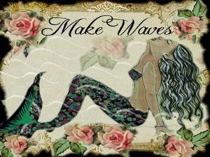 Make Waves Mermaid by sylvia pimental