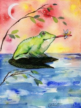 Mr Bullfrog with Firefly by sylvia pimental