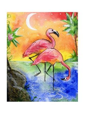 Pink Flamingos by sylvia pimental