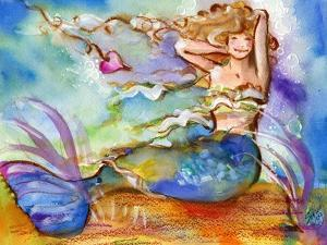 Pretty Blue Mermaid by sylvia pimental