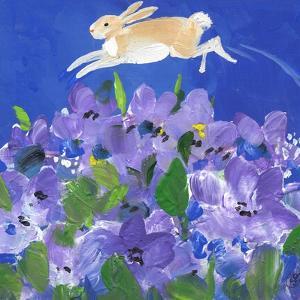 Running Rabbit by sylvia pimental