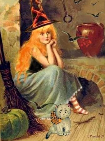 Vintage Witch Halloween