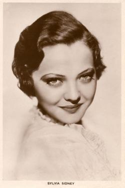 Sylvia Sidney, Postcard