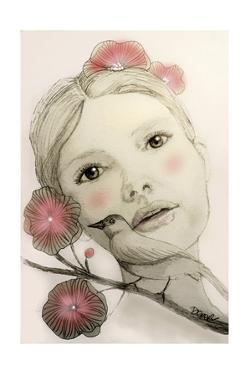 Melodie In Blush by Sylvie Demers