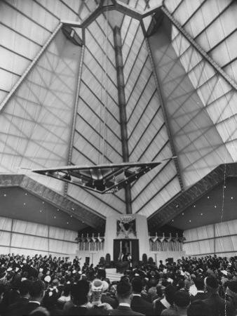 Synagogue Designed by Frank Lloyd Wright