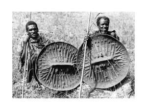 Abessinische Truppen im Krieg gegen Italien, 1935 by SZ Photo