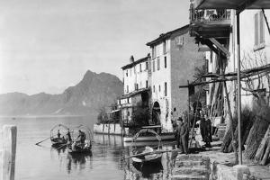Gandria am Luganersee, 1929 by SZ Photo