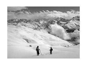 Skifahrer bei Arosa by SZ Photo