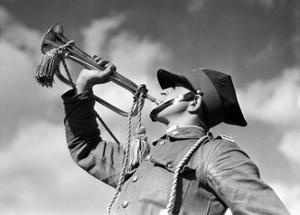 Trompeter der polnischen Kavallerie vor 1939 by SZ Photo