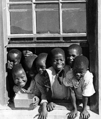 Zulukinder in Südafrika, 1938