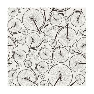 Vintage Bicycle Seamless by szsz