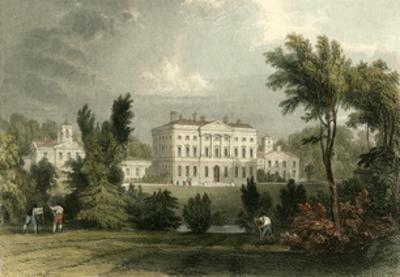 Hewick Hall by T. Allom