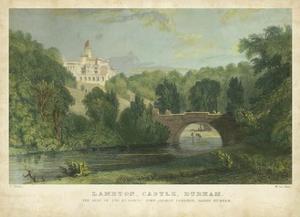 Lambton Castle by T. Allom