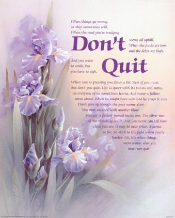 Don't Quit by T. C. Chiu