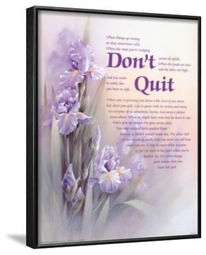 Don't Quit by T. C. Chiu