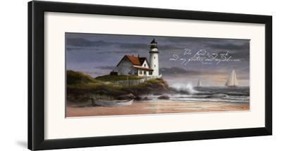 Lighthouse: Dusk by T. C. Chiu