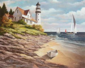 Lighthouse I by T. C. Chiu