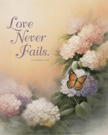 Love Never Fails by T. C. Chiu